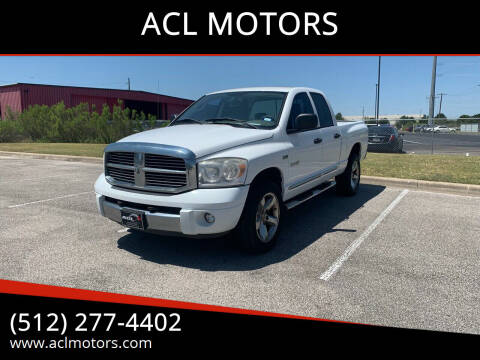 2008 Dodge Ram Pickup 1500 for sale at ACL MOTORS in Austin TX