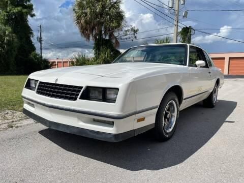 1983 Chevrolet Monte Carlo for sale at American Classics Autotrader LLC in Pompano Beach FL