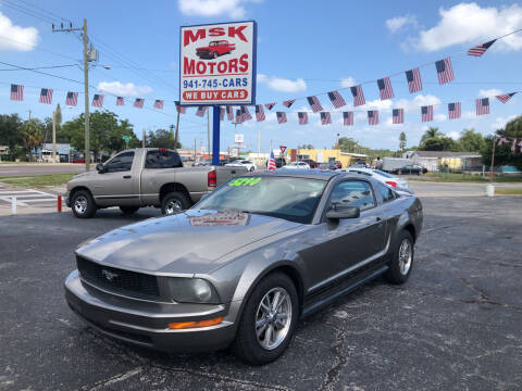 2005 Ford Mustang for sale at MSK Motors in Bradenton FL