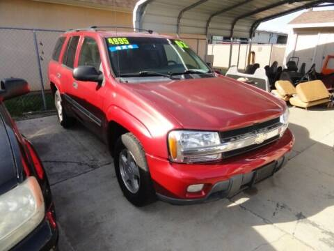 2002 Chevrolet TrailBlazer for sale at Gridley Auto Wholesale in Gridley CA