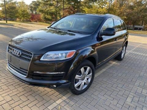 2007 Audi Q7 for sale at JES Auto Sales LLC in Fairburn GA