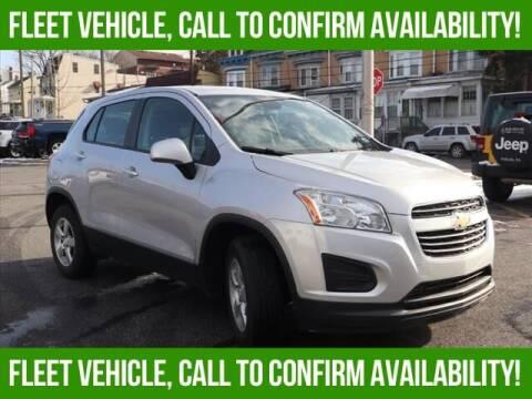 2016 Chevrolet Trax for sale at Bob Weaver Auto in Pottsville PA