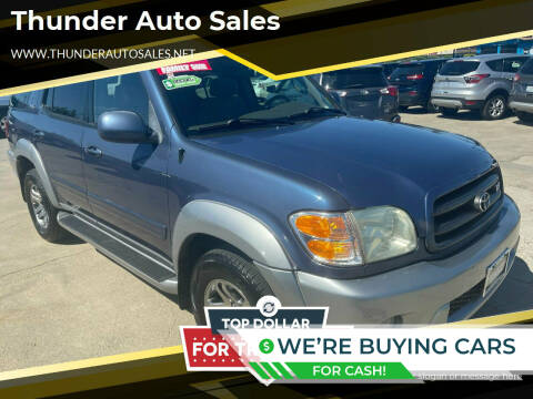 2004 Toyota Sequoia for sale at Thunder Auto Sales in Sacramento CA
