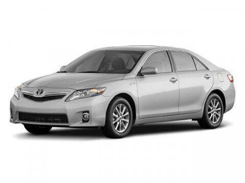 2010 Toyota Camry Hybrid for sale at HILAND TOYOTA in Moline IL