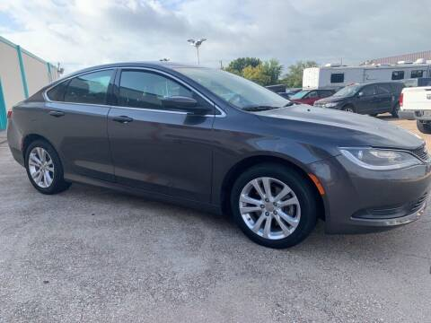 2016 Chrysler 200 for sale at Car Now Dallas in Dallas TX