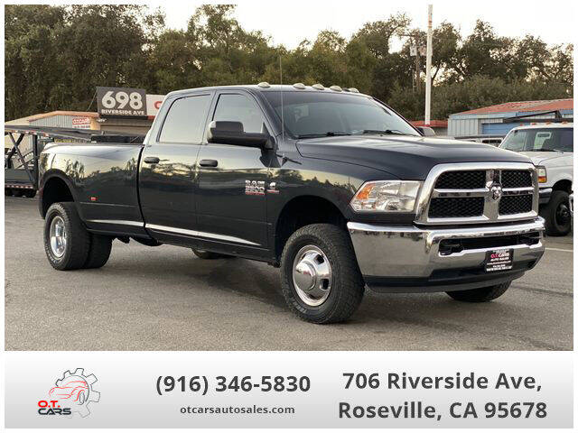 2016 RAM Ram Pickup 3500 for sale at OT CARS AUTO SALES in Roseville CA
