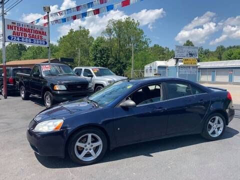 2009 Pontiac G6 for sale at INTERNATIONAL AUTO SALES LLC in Latrobe PA