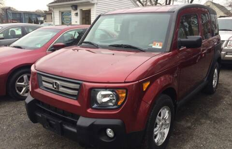 2007 Honda Element for sale at Charles and Son Auto Sales in Totowa NJ