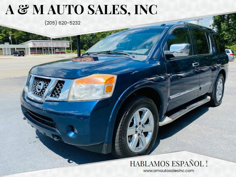 2010 Nissan Armada for sale at A & M Auto Sales, Inc in Alabaster AL