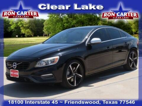 2016 Volvo S60 for sale at Ron Carter  Clear Lake Used Cars in Houston TX