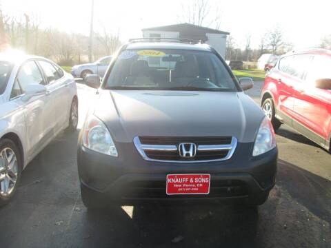 2004 Honda CR-V for sale at Knauff & Sons Motor Sales in New Vienna OH