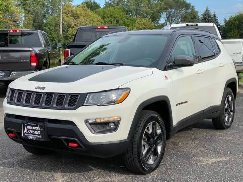 2018 Jeep Compass for sale at North Imports LLC in Burnsville MN