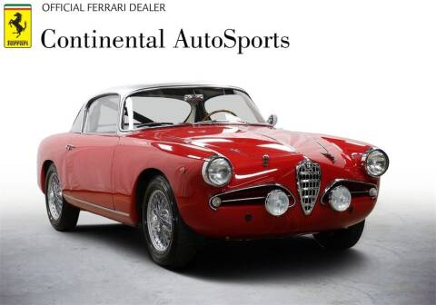 1957 Alfa Romeo 1900 CSS for sale at CONTINENTAL AUTO SPORTS in Hinsdale IL