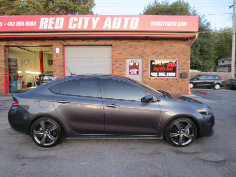 2015 Dodge Dart for sale at Red City  Auto in Omaha NE