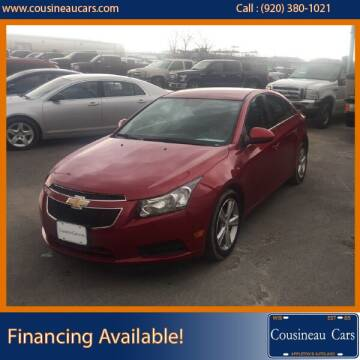 2014 Chevrolet Cruze for sale at CousineauCars.com in Appleton WI