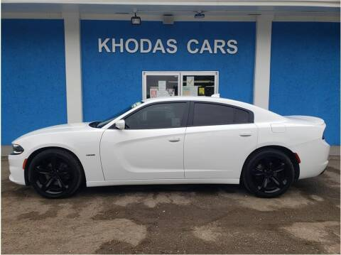 2016 Dodge Charger for sale at Khodas Cars in Gilroy CA