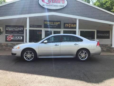 2012 Chevrolet Impala for sale at Stans Auto Sales in Wayland MI