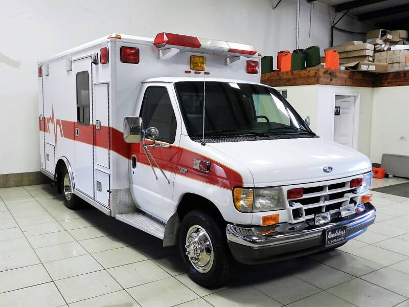 1995 Ford E-Series Chassis E-350 2dr Commercial/Cutaway/Chassis - Houston TX