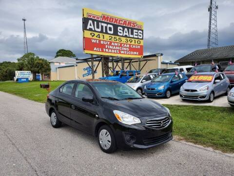 2017 Mitsubishi Mirage G4 for sale at Mox Motors in Port Charlotte FL