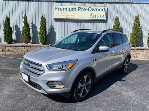 2017 Ford Escape for sale at PREMIUM PRE-OWNED AUTOS in East Peoria IL