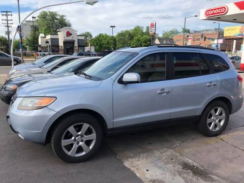 2007 Hyundai Santa Fe for sale at Capitol Hill Auto Sales LLC in Denver CO
