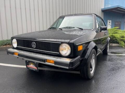 1986 Volkswagen Cabriolet for sale at Parnell Autowerks in Bend OR