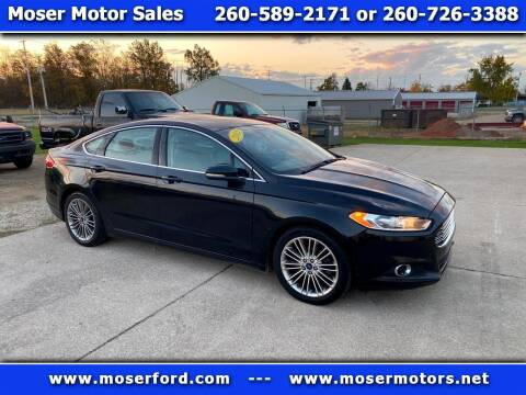 2015 Ford Fusion for sale at Moser Motors Of Portland in Portland IN