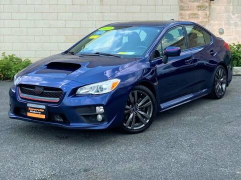 2017 Subaru WRX for sale at Somerville Motors in Somerville MA