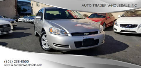 2008 Chevrolet Impala for sale at Auto Trader Wholesale Inc in Saddle Brook NJ