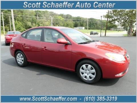 2008 Hyundai Elantra for sale at Scott Schaeffer Auto Center in Birdsboro PA