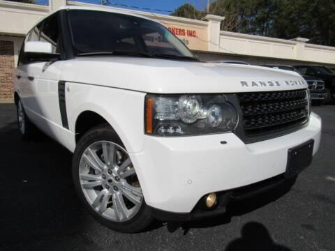 2011 Land Rover Range Rover for sale at North Georgia Auto Brokers in Snellville GA