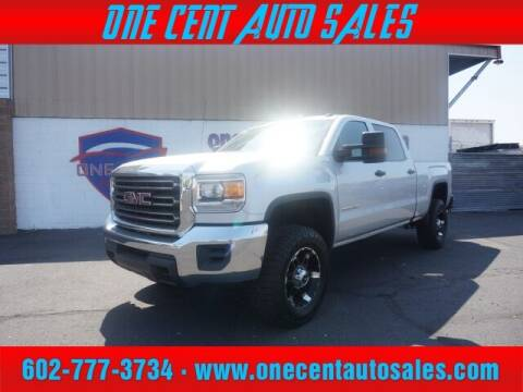 2016 GMC Sierra 3500HD for sale at One Cent Auto Sales in Glendale AZ