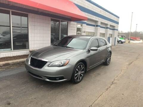 2013 Chrysler 200 for sale at BORGMAN OF HOLLAND LLC in Holland MI