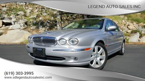 2004 Jaguar X-Type for sale at Legend Auto Sales Inc in Lemon Grove CA