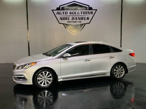 2017 Hyundai Sonata for sale at Noel Daniels Motor Company in Ridgeland MS
