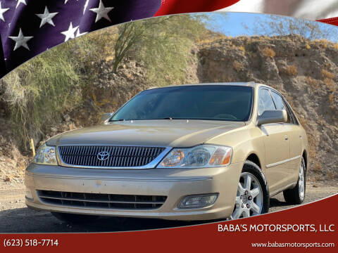 2001 Toyota Avalon for sale at Baba's Motorsports, LLC in Phoenix AZ