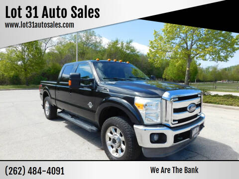 2011 Ford F-250 Super Duty for sale at Lot 31 Auto Sales in Kenosha WI