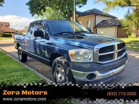 2008 Dodge Ram Pickup 1500 for sale at Zora Motors in Houston TX