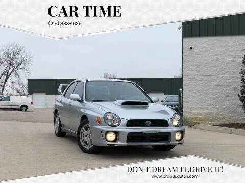 2002 Subaru Impreza for sale at Car Time in Philadelphia PA