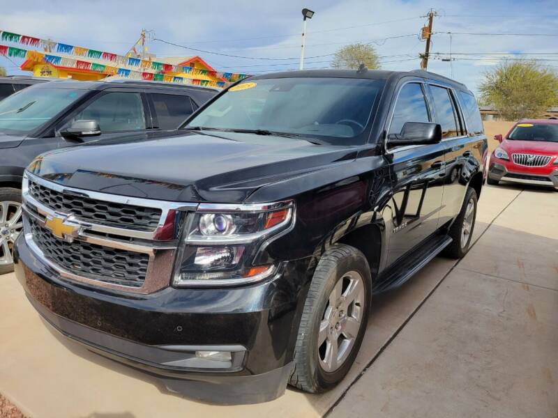 2015 Chevrolet Tahoe for sale at A AND A AUTO SALES in Gadsden AZ