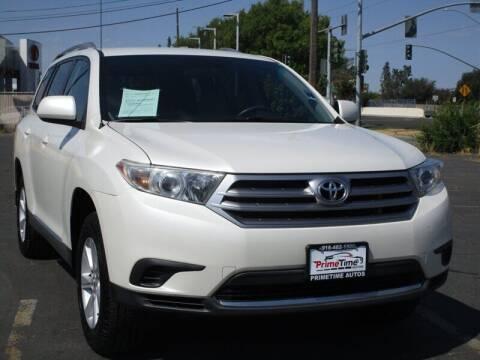 2012 Toyota Highlander for sale at PRIMETIME AUTOS in Sacramento CA