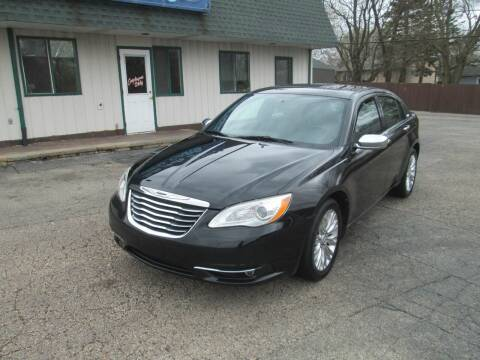 2011 Chrysler 200 for sale at SHULTS AUTO SALES INC. in Crystal Lake IL