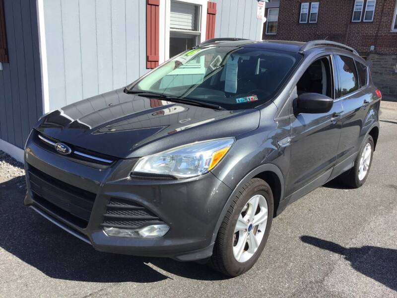 2016 Ford Escape for sale at Sharon Hill Auto Sales LLC in Sharon Hill PA