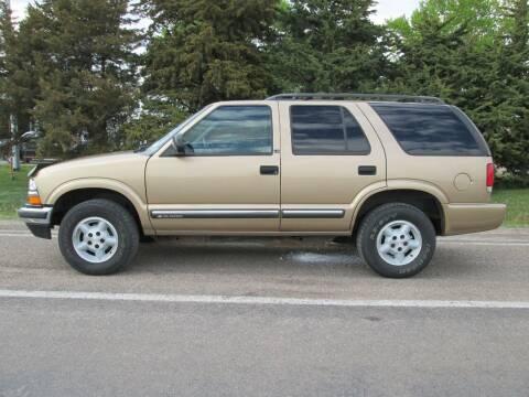 2000 Chevrolet Blazer for sale at Joe's Motor Company in Hazard NE