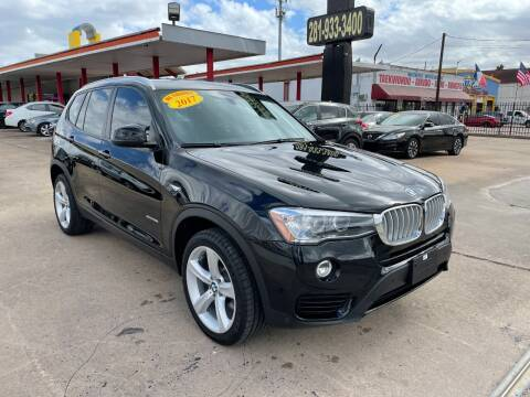 2017 BMW X3 for sale at Auto Selection of Houston in Houston TX