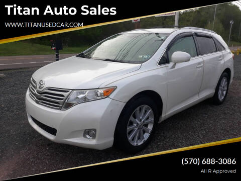 2010 Toyota Venza for sale at Titan Auto Sales in Berwick PA