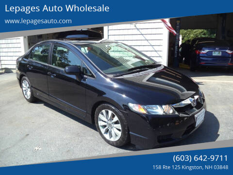 2009 Honda Civic for sale at Lepages Auto Wholesale in Kingston NH