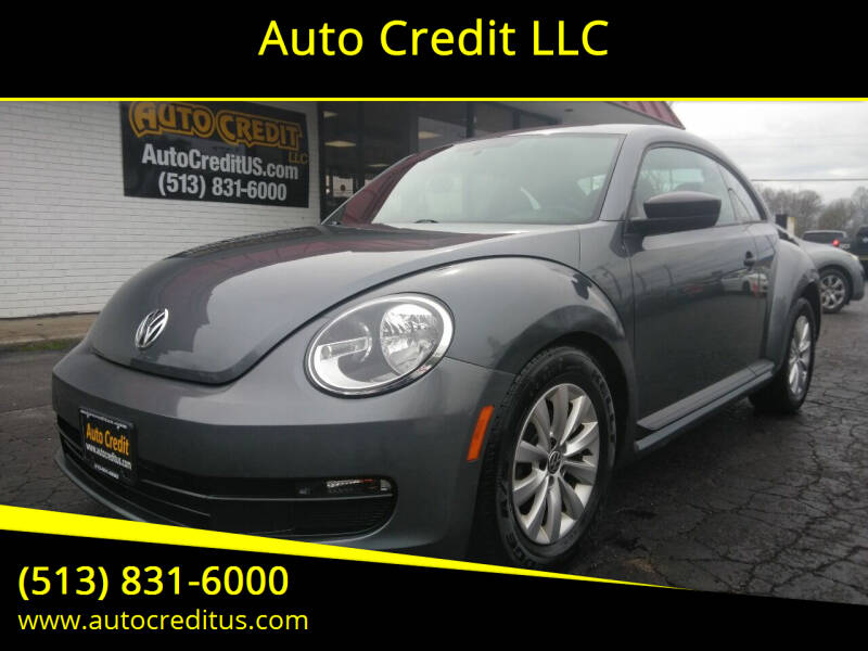 2013 Volkswagen Beetle for sale at Auto Credit LLC in Milford OH