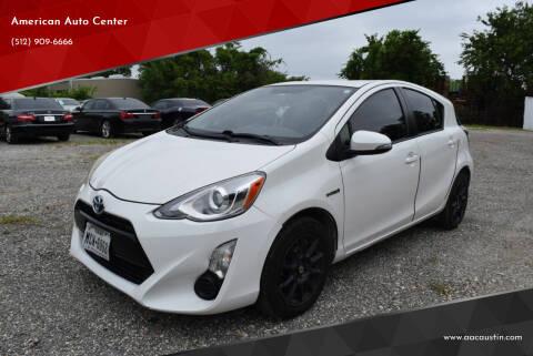 2015 Toyota Prius c for sale at American Auto Center in Austin TX