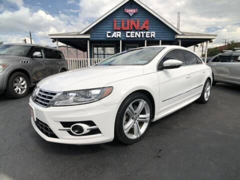2014 Volkswagen CC for sale at LUNA CAR CENTER in San Antonio TX